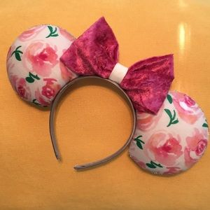 Accessories - Handmade Disney ears - floral bloom
